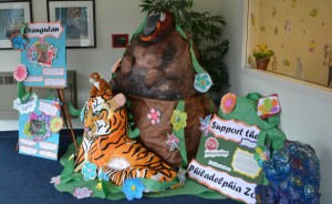 Palm Oil Initiative Display at Woods Services