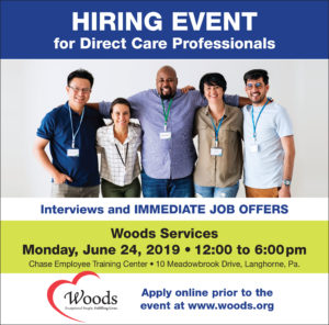 Hiring Event- June half page ad - Woods Services